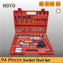 "1/2""&1/4"" Dr.94PCS Socket Wrench Set/High Quality Mini Hand Tools Sets Kinds of Driving Tools"