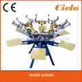 4 couleur 2 station. carrousel. machine de sérigraphie pour les ventes