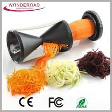 Spiral Slicer stainless steel spiralizer Spiral Vegetable Slicer As seen on tv