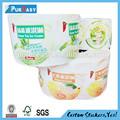 Personalizado impermeável auto-adesivo rótulo freezer