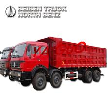 NORTH BENZ NG80 340HP 12 WHEELS 8X4 EURO2 DUMP TRUCK