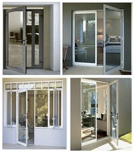 aluminium aluminum/pvc sliding interior door design and window