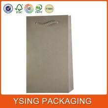 Custom Printed Mini Brown Paper Bag For Charcoal
