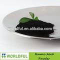 De alta eficiencia de ácido húmico en la agricultura, polvo de ácido húmico, fertilizantes orgánicos de ácido húmico a partir de leonardita/lignito