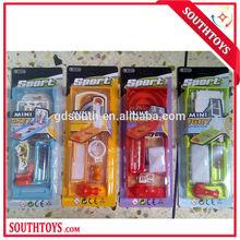 4 styles board mini sport game,gift toy for children magazine,mini slap shot/touch down/skeeball/hoops/basketball