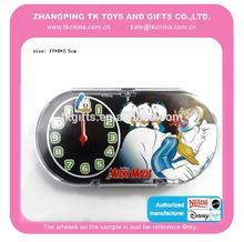 Nouveau 2015 hot vente enfants éducatifs mikey jouet horloge