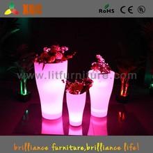 Led flower pot professional waterproof 16 colors led flower pot/led flower light for party/garden/home decoration