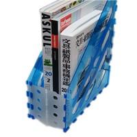 foldable plastic acrylic desktop archive divider organizer folder holder magazine file box