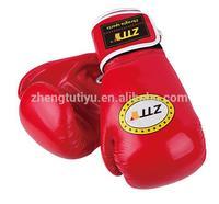 Punching glove PU Leather, boxing gloves logo