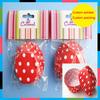 wholesale 2014 hot selling custom printed paper cupcake liners ,cakes cupcakes