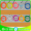 colorful el wires(red,lemon,Aqua,green,Blue,Purple,Pink,Gold Yellow,White,sky blue)