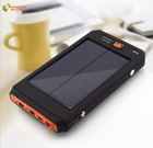 Hot portable multifunctional 12000mah laptop solar charger power bank for mobile phone and laptop