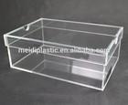 hot sale clear acrylic shoe box, plastic shoe box