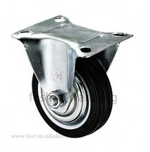Rubber Heavy Duty Caster And Wheel