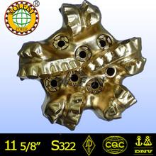 Diamante taladradoras/agujereadoras/brocas api/iso de aceite y de exploración de minerales