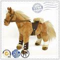 Cavalo de pelúcia/personalizado de pelúcia brinquedo animal/brinquedo cavalo de passeio