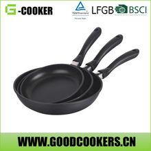Safety cookware frying pan cooking pan non-stick fry pan set