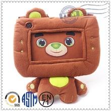 New design factory direct sales plush teddy bear photo frame