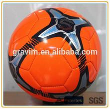 Soccer ball/football size 5# brand logo custom print hand sewn PU/PVC