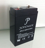 valve regulated 6v 2.8ah sla rechargeable storage battery