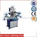 Tj-44 rótulo hot stamping máquina de tecido máquina de impressão da fita de cetim label máquina de impressão