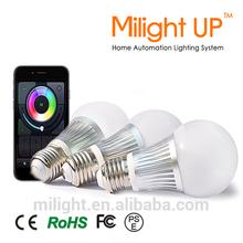 E27/E26/B22 wireless smart lighting dimmable mi light led wifi bulb