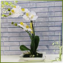 Artificial wholesale orchid bonsai pots plastic cut flowers plants arrangements