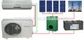 dc 48v fuera de la red inversor solar aire acondicionado btu 18000