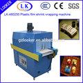 handmake sapone imballaggio vendita calda automatico calore pellicola di plastica termoretraibile avvolgere forno
