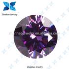 10 Hearts & 10 Arrows Lab Created Amethyst Purple Star cut Zircon Stone