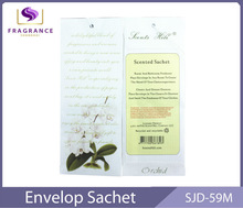 european wholesale paper fresh scented sachet fragrance bead air fresheners