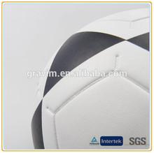 Promotional soccer ball/football size 5# PVC material laminated brand logo custom print