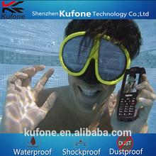 waterproof floating mobile phone,waterproof dustproof shockproof phone,feature phone