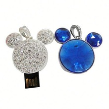 Hot Sale Free Sample waterproof jewelry usb flash drive 16gb for Promotional Gift