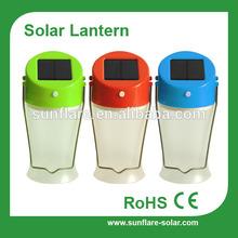 new design portable solar camping lantern