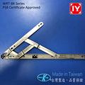La serie wrt-bk tres conjunto apertura de servicio pesado de acero inoxidable de la bisagra de la ventana de fricción estancia