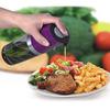 Popular 2 in 1 borosilicate olive oil vinegar bottle with cork stopper plastic