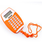 Simple Durable 8 digits cheap Calculator with rope For Promotional Gifts