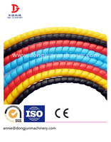 soft silicone spiral cut sleeve/spiral guard for hydraulic hose