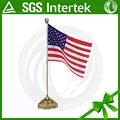 Más barato 10*15cm productos del sistema americano de mundo mini mesa de la bandera nacional
