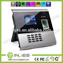 Turkish language 3000 User TCP/IP USB Biometric clock in fingerprint time card machine