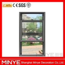 Aberta vertical de vidro da porta e da janela/alumínio portas e janelas