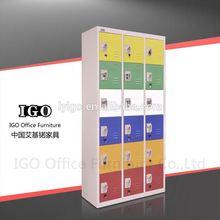 IGO-026 18 doors locker microwave/fridge cabinet