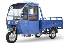 wind-cooled Cargo tricycle with truck 175cc motorcycle