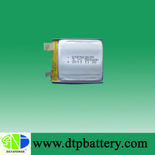 Factory directly selling IEC UN Approved 3.7v 500mah polymer li ion battery