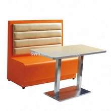 Leather Restaurant Booth child sofa
