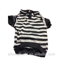 Apparel Coat Stripe T Shirt Fleece Jacket Coral Dog Pet Clothes Puppy