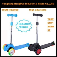 High quality new style kick three wheel scooter