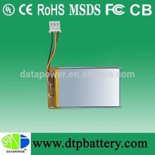 all model battery for mobile phone 753048 LIon polymer battery DTP