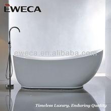 Deep Acrylic Soaking Bath Tub